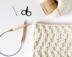 Knitting PATTERN Knit Cowl Pattern Cowl Knitting Pattern   Etsy Baby Girl Winter Hats, Crochet Mittens, Crochet Hats, Knit Cardigan, Knit Cowl, Super Bulky Yarn, Lion Brand Yarn, Knitting Patterns, Blanket Scarf