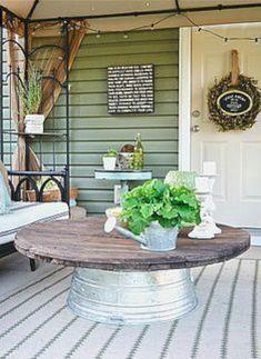 Stunning farmhouse table design and decor ideas (36)