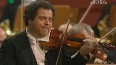 Itzhak Perlman plays Beethovens concert for violin and orchestra D major op.61 Larghetto part 1, via YouTube.