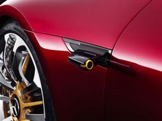 Mercedes AMG GT Concept Rearview camera - from the gallery: Automotive Exteriors - Side View Cameras