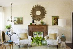 12 Ideas For Decorating A Nonworking Fireplace