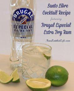 cool Santo Libre Cocktail