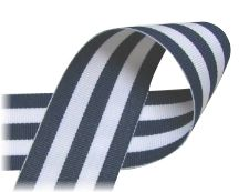 Stripe Ribbon - printed, grosgrain,