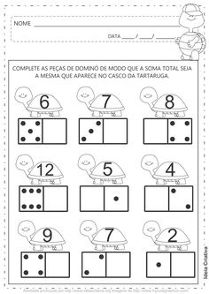 count to ten Kindergarten Math Worksheets, Teaching Math, Preschool Activities, Math Numbers, Homeschool Math, Math For Kids, Kids Education, Math Lessons, Pre School