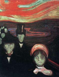 Munch. Ansiedad. 1894.                                                       …