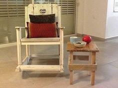 From A 2 B Pallet Rocking Chair & Queening Chair