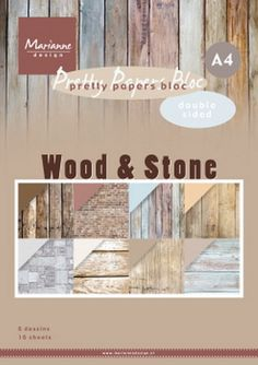 Wood Stone, A4 Paper, Marianne Design, Different Styles, Lighthouse, Canning, Pretty, Disney, Juni