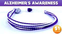 Alzheimer's Awareness Pure Vida Bracelet