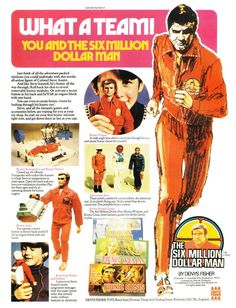 You and the Six Million Dollar Man