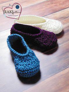 Everyday Slippers Crochet Pattern