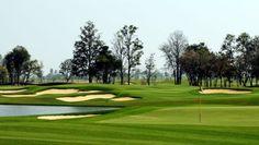 Reisen und Golf Thailand/Hua Hin: Singha Park Khon Kaen Golf Club mit Lagekarte
