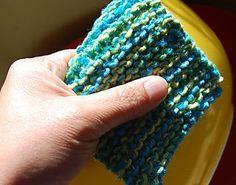 knitting scrubbie
