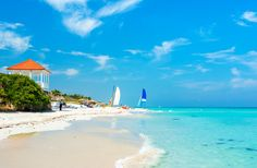 BEACH ESCAPES: The largest island in the Caribbean has plenty of white-sand, palm-fringed beaches, from resort-fronted Varadero to remote strands such as the lovely Playa Sirena.