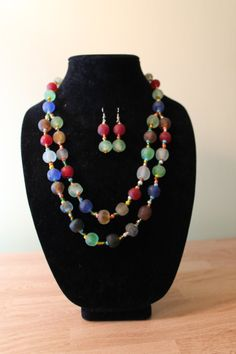 Lovely African handmade bead jewelry.