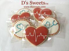 Nurses Day Cookies www.dssweets.com