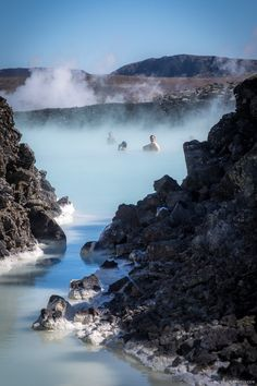 Getting Steamy at Blue Lagoon, #Iceland | Global Girl Travels | Travel like a lady