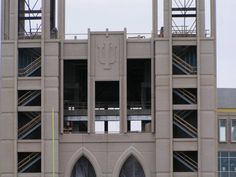 Indiana University Hoosiers - football Memorial Stadium - entrance