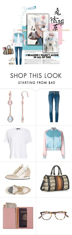 """""""Luhan :: Traveling Days"""" by rah00maa ❤ liked on Polyvore featuring Jacob Cohёn, rag & bone/JEAN, Alexander McQueen, ELENA IACHI, JustFab, Royce Leather and Garrett Leight"""