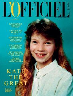 Kate Moss for L'Officiel Spain