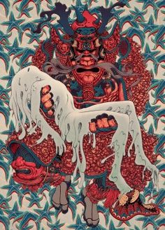 "Vesperbild. Ink and Digital, 8.25 x 11.5"", 2014. James Jean"