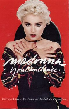 Madonna You Can Dance $4.99  Find this great tape in Cassette and Video Corner!