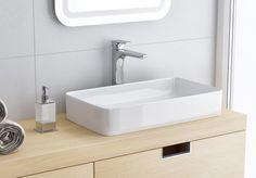 Umywalka Excellent Cori 61 z cienkim rantem to umywalka ceramiczna nablatowa wykonana z dbałością o każdy szczegół. #excellent #budowadomu #bateria #faucet #baterialazienkowa #inspiration #bathrom #instagood #wnętrza #wnętrze #bathproducts #projektant #bathroom #wakacje Sink, Bathroom, Home Decor, Sink Tops, Washroom, Vessel Sink, Decoration Home, Room Decor, Vanity Basin