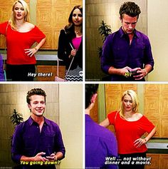 Nick roux on young and hungry