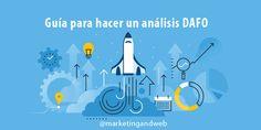 Hacer una matriz de análisis DAFO nos ayudará a tomar mejores deciones en el Futuro. Con este análisis tenemos una foto de la situación actual del negocio.