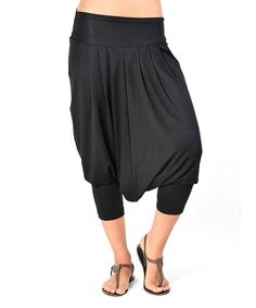 {Black Rosie Harem Pants by Jantie} u can't touch this... ha.