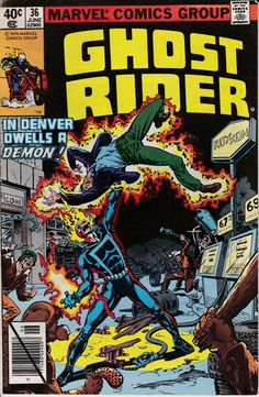 Ghost Rider 1973 1st Series 36 June 1979 Issue by ViewObscura, $1.00
