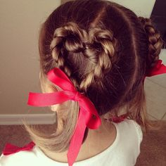 I want a little girl to do this in her hair.