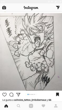 Queen Of Hearts Tattoo, Dbz Drawings, Goku Pics, Manga Dragon, Arte Sketchbook, Anime Tattoos, Dragon Ball Gt, Fan Art, Art Sketches