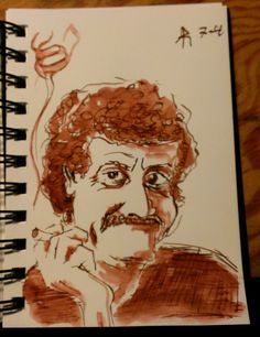 Kurt Vonnegut by Ali-Radicali on DeviantArt
