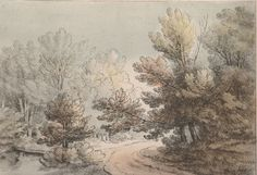J. Laporte after Thomas Gainsborough R.A. - Untitled #23  - Soft Ground Etching #Impressionism