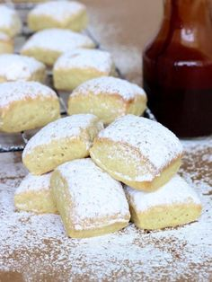 Maegan Brown from The BakerMama bakes a beignet-style biscuit that will quickly become a family favorite for a special breakfast or an afternoon treat! Apple Fritter Recipes, Apple Fritter Bread, Donut Recipes, Apple Recipes, Sweet Recipes, Dessert Recipes, Brunch Recipes, Bread Recipes, Breakfast Recipes