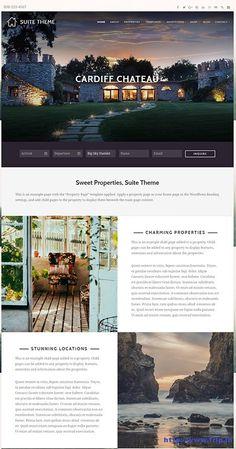 Suite Rental Properties WordPress Theme By Organic Themes  http://www.frip.in/suite-rental-properties-wordpress-theme/