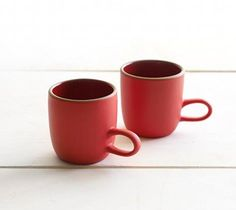 Heath Ceramics / winter collection 2010. i love everything about this.