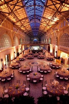 Venue Option // San Francisco Ferry Building // San Fracisco, CA Wedding Reception Decorations, Wedding Receptions, Wedding Events, Wedding Dinner, Yellow White Wedding, Indoor Wedding, Table Arrangements, Wedding Planning Tips, Event Venues