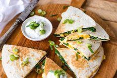 Quesadillas, Burritos, Ethnic Recipes, Wraps, Food, Breakfast Burritos, Quesadilla, Essen, Meals