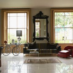 belle maison: Voluminous Mirrors = Gorgeousness!