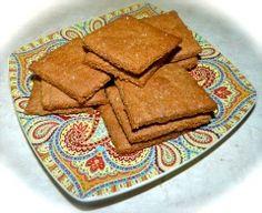 "Almond Flour ""Graham"" Crackers"