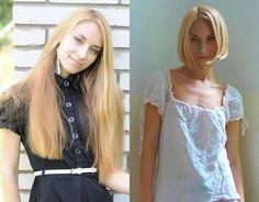 Hair💇🏻♀️ Long Hair Cut Short, Long Pixie, Short Blonde, Short Hair Styles, Pixie Bob Hairstyles, Hairstyles Haircuts, Bob Haircuts, Before And After Haircut, Extreme Hair