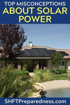 The Ultimate Guide To DIY Off Grid Solar Power — You won't need any other information on solar ever again with this information. Bookmark for later use if you are not ready for solar power yet! Off Grid Solar Power, Solar Power System, Solar Companies, Off Grid Cabin, Primitive Survival, Solar Generator, Solar House, Solar Charger, Diy Solar