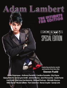 (January 2010, USA) Adam Lambert on the cover of 'Rockstar Weekly' The ultimate fan edition