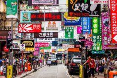Mongkok madness by Joan Gamell