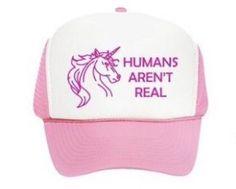 bcf76e97 Unicorn Trucker Hat - Light Pink. Unicorn FashionReal UnicornTrucker Hats UnicornsBaseball HatsBaseball CapsToddler Trucker HatsA ...