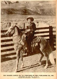 Roy Rogers Photos from Comics 1 Old Movies, Vintage Movies, Vintage Posters, Vintage Photos, Cowboy Christmas, Country Christmas, Christmas Christmas, Dale Evans, Roy Rogers