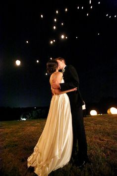 wish lanterns | Mary Rosenbaum #wedding