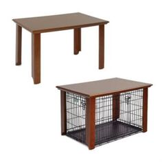 Pet Crate Table Midwest dog crate cover – These are perfect to integrate Dog Crate Cover, Dog Kennel Cover, Diy Pour Chien, Dog Crate Table, Dog Furniture, Dog Houses, Diy Stuffed Animals, Dog Life, Ideas