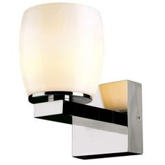 Big Sura wall light by SLV Lighting Modern Wall Sconces, Modern Light Fixtures, Italian Lighting, Modern Lighting, Arch Light, Home Decor Styles, Chrome Finish, Household Items, Wall Lights
